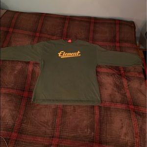 Element long sleeve vintage shirt